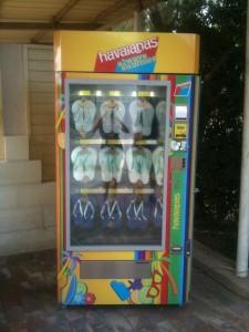 Fregene distributore automatico infradito