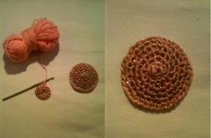 Crocheted nipple pasties
