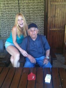 Con lo zio Ghirby