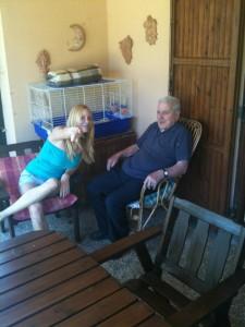 Con nonno Mecuccio