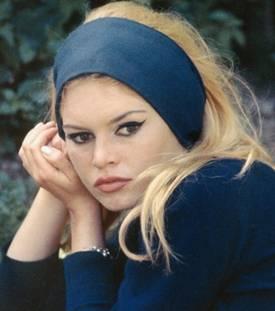 fascia capelli Brigitte Bardot 2