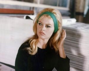 fascia capelli Brigitte Bardot